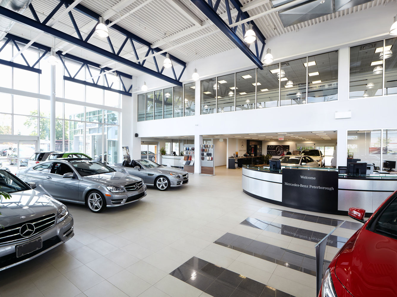 Clients projects mortlock construction for Mercedes benz peterborough